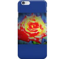 Front porch rose iPhone Case/Skin