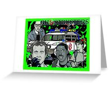 the Ghostbusters Greeting Card