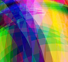 Rainbow Crystal by Geoff French
