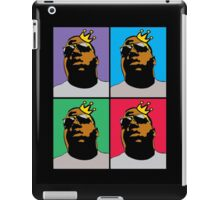 HIP-HOP ICONS: NOTORIOUS B.I.G. (4-COLOR) iPad Case/Skin