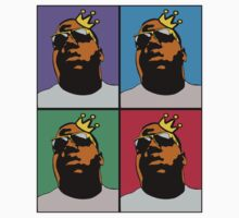 HIP-HOP ICONS: NOTORIOUS B.I.G. (4-COLOR) Kids Clothes