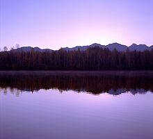 Mirrored Lake by DanielRegner