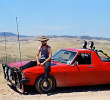 Bloke & Ute by mgimagery