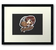 Potato Framed Print