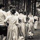 Wedding Procession - Bilpin by Andrew Dodds