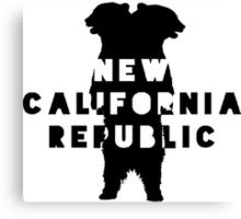 New California Republic  Canvas Print