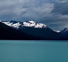 Glacial lake - Patagonia by Stephen Colquitt