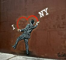 I love NY by mbowdie