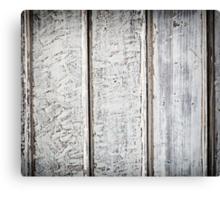 White wood plank Canvas Print