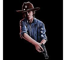 Carl Grimes - The Walking Dead Photographic Print