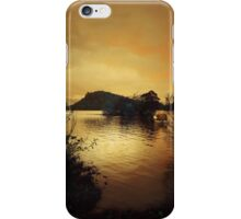 AS THE SUN SETS ON LOCH LOMOND iPhone Case/Skin