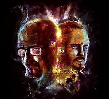 Chemisty2 - Walter White and Jesse Pinkman by uberdoodles