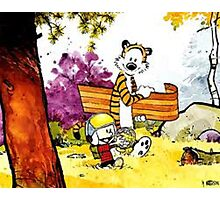 Calvin 'n' Hobbes Photographic Print