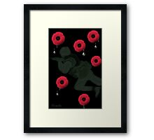 ❤ † ❤ †LEST WE FORGET MEMORIAL DAY DEDICATION TAKE TIME TO REMEMBER & RELFECT HUGS--PICTURE & OR CARD❤ † ❤ † Framed Print