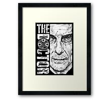 New Beginnings Number 12 - Doctor Who - Peter Capaldi Framed Print