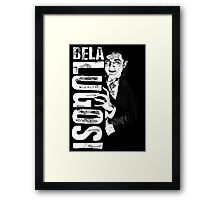 Dracula - Bela Lugosi - Vampire - The Count Framed Print