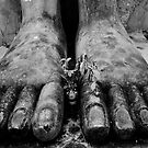 Buddha's Feet by sid8chris