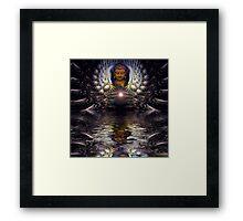 spiritiual relections Framed Print