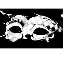 carnival mask Photographic Print