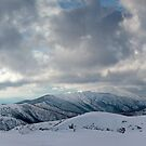 Mt.Feathertop, Mt.Buffalo, The Razorback, The Fainters, and Mt.Loch by John Barratt