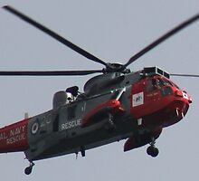 Royal Navel Rescue Helicopter. by kenmay