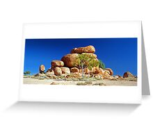 The Devil's Marbles. Greeting Card