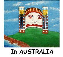 Had A FUN Time In AUSTRALIA (Card) by C J Lewis