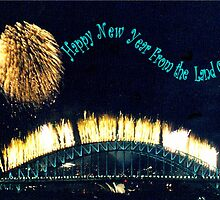 HAPPY NEW YEAR FROM THE LAND OF OZ by C J Lewis