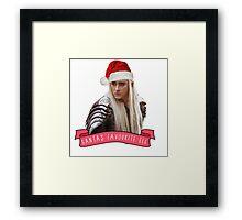 Santa's Favourite Elf - Thranduil Framed Print