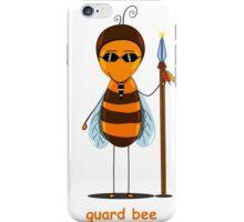 bee guard  iPhone Case/Skin
