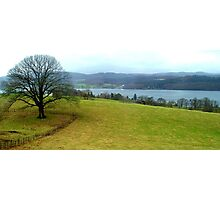 Windermere from Blackwell House, Lake District, UK Photographic Print
