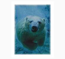 Polar Bear Dive T-Shirt by Mark Snelson