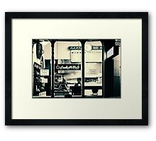 Late night supper Framed Print