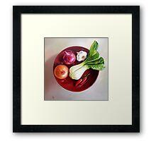 Summer plate #2 Framed Print
