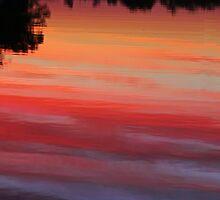 Upside Down Sunset by Eileen McVey