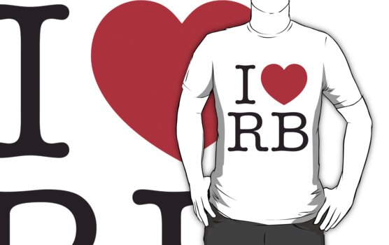 I Heart RB by Jason Jeffery