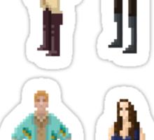 Pixel Firefly Sticker