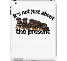 It's Not Just About The Present Greeting Card iPad Case/Skin