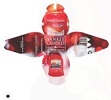 Yankee Candle Packaging by Ileana Ríos Carmona