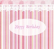 Happy Birthday (Cupcake) by Denise Abé