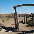 Dalhousie Stock Yard Ruins,Outback Australia by Joe Mortelliti