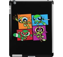 Power POP Turtles iPad Case/Skin