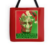 Seasons Grootings Tote Bag