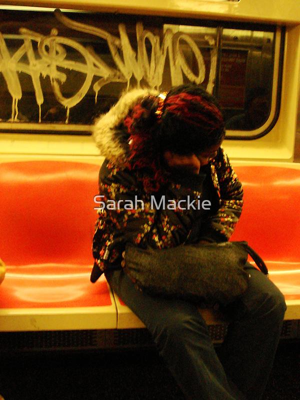New York Subway by Sarah Mackie