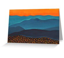 Northern Mountains Greeting Card
