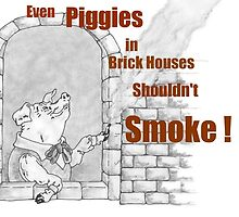 Even Piggies In Brick Houses... by redqueenself