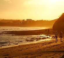Strolling Torquay Surf Beach,Great Ocean Road by Joe Mortelliti