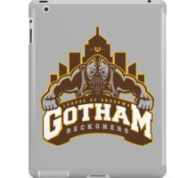 Gotham Reckoners iPad Case/Skin