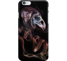 Smoke bird skull iPhone Case/Skin