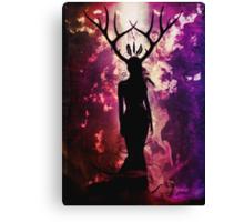 Deer Dreams Canvas Print